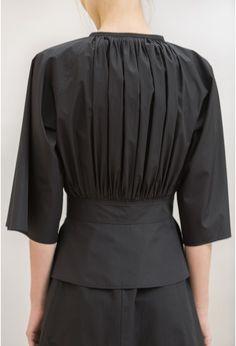 chemise plissée