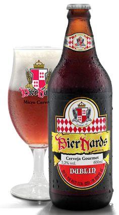 Cerveja Bier Nards Dublin, estilo Irish Red Ale, produzida por Cervejaria Bier…