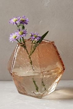Faceted Gem Vase - anthropologie.com