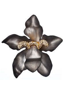 alexis bittar brooches | Alexis Bittar Alexandria Orchid Statement Pin - Lyst