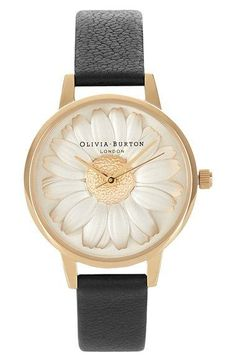 Loving this three-dimensional daisy on the dial! Perfect for summer.