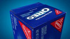 Oreo Paperbox Folding Animation