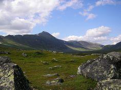 Grönfjäll valley. near Kittelfjäll, Lapland, #Sweden