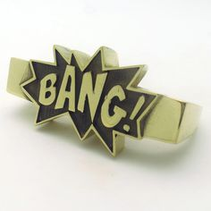 Bang Double-Finger Ring