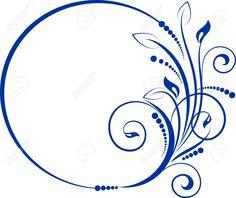 Cadre Décoratif Pour La Conception Ovale De Style Vintage Clip Art Libres De Droits , Vecteurs Et Illustration. Pic 15448321.