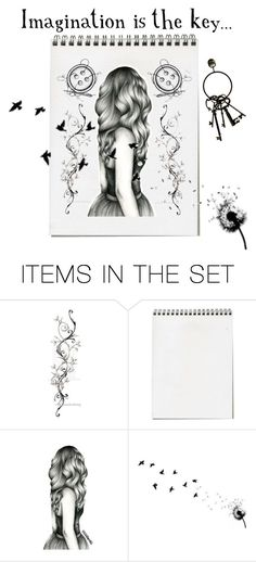 """""""Imagination"""" by tahlita-botha ❤ liked on Polyvore featuring art"""