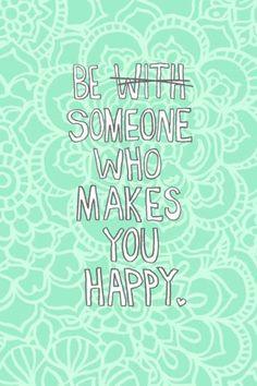 Be someone *`'