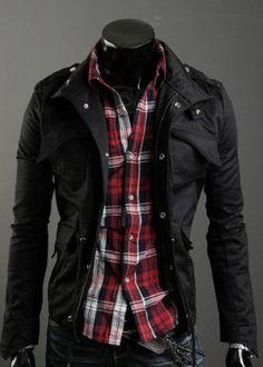 Men\'s Military Style Jacket