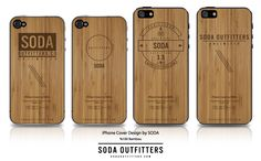 soda outfitters co. bambou iphone case