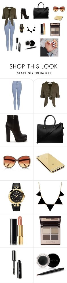 """C O N F I D E N T"" by louisse-betina ❤ liked on Polyvore featuring moda, Topshop, Forever 21, Paul & Joe, Goldgenie, Versace, Chanel, Charlotte Tilbury e Mary Kay"
