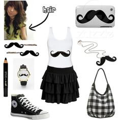 I found 'I Love Mustache!' on Wish, check it out!