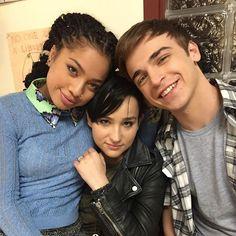 Kiana Lede, Bex Taylor Klaus, and Sean Grandillo