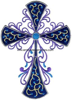Decorative Crosses Machine Embroidery Designs by Embroidery Emotions, via Behance Sewing Machine Embroidery, Embroidery Files, Christian Symbols, Christian Quotes, Brother Embroidery, Crosses Decor, Celtic Designs, Machine Design, Embroidery Techniques