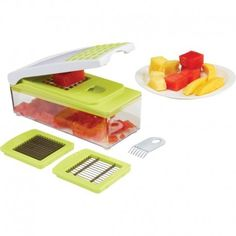 LaCuisine Multi-Slicer with 3 Blades @ GourmetThat.com