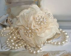 Pearl/Flower Bracelet