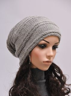 Slouchy hat!