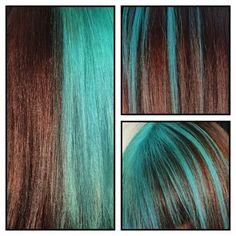 #ColorMaskPaint-raitoja! + #turquoise #monipuolinen #shokkiväri #väriämaanantaihin  #KCProfessional ℹ️colormaskpaint.fi