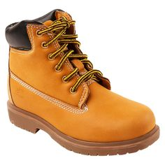 Boys' Deer Stags Mack 2 Water Proof Occupational Boots - Tan 5, Boy's