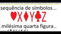 #RaciocínioLógico #Contagem #Psicotécnico #Detran #Concurso #Baralho     #Sequenciação #naipes #cartas  #VídeoAula https://youtu.be/2s6xvGJRkfM