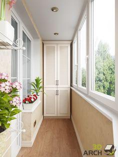 визуализация балкона