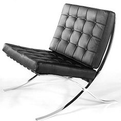 Pavilion Chair 1929, Based on the designs of Mies Van Der Rohe