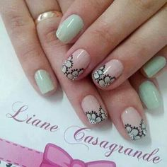 Love Nails, Trendy Nails, Simple Designs, Hair And Nails, Finger, Nail Designs, Nail Art, Beauty, Manicures