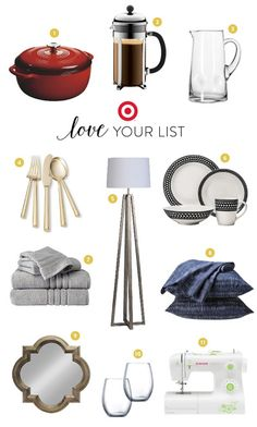 love your list with target wedding registry