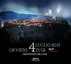 Orvieto Italy becomes the first non U.S. to officially mark and embrace July 4th in recognition of and tribute to Italian influence and support in America.  Orvieto 4Ever is an organization dedicated to innovating the future with infusions of the past as exemplified in brand partners such as Domenica Fiore, Cardeto, and Vetrya. www.Orvieto4Ever.com.