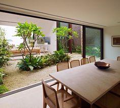 Jardim integrado