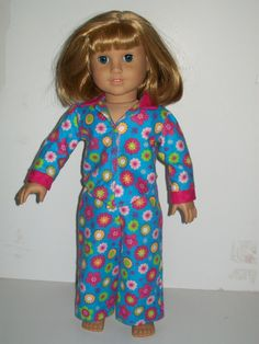 18'' American Girl Doll Pajama's by Emilysdollcloset on Etsy, $14.00