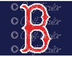 Boston Red Sox Crochet Graphgan Graph Pattern C2C