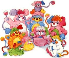 Popples.  The stuffed animal that turns into a ball.