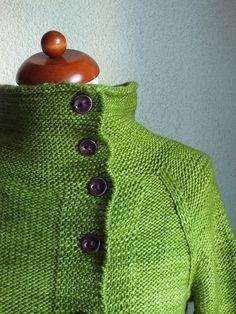 Hand knit jacket - is Ravelry - Golden Wheat Cardigan by Veera Välimäki Knitting Designs, Knitting Patterns Free, Knit Patterns, Knitting Projects, Free Pattern, Crochet Cardigan, Knit Crochet, Girls Sweaters, Cardigans