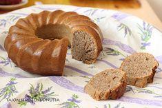 Kvásková orechová bábovka Doughnut, Bread, Fit, Desserts, Tailgate Desserts, Deserts, Shape, Brot, Postres