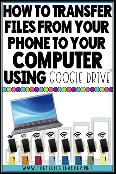 How to Transfer Files from Your Phone to Your Computer (The Techie Teacher) Life Hacks Computer, Iphone Life Hacks, Computer Basics, Computer Help, Computer Internet, Computer Tips, Computer Security, Tablet Computer, Technology Hacks