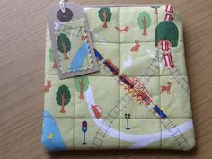 Cosmetic Purse Pouch Padded Cotton by Giorgann on Etsy, £8.00