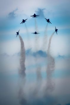 .Blue Angels Above