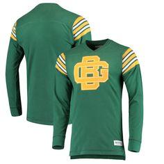 292ef4a243e3 Green Bay Packers Mitchell & Ness Team Captain V-Neck Long Sleeve T-Shirt –  Green