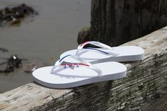 Get in the spirit with MADiL flip flops...Memorial Day, 4th of July, or any day! www.mymadil.com