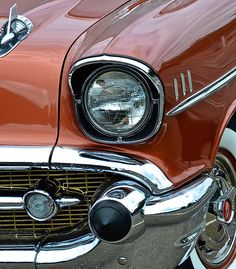 1957 Chevy Photograph  - 1957 Chevy Fine Art Print ~ #chevy #57chevy #copper #cars #photography #sweetrides :)