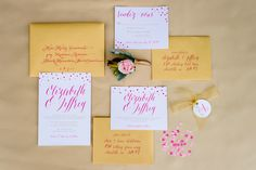 Styled by Unveiled Design and Events, Photography: Caroline Lima Photography  Read More: http://www.stylemepretty.com/2015/02/25/dazzling-hot-pink-wedding-inspiration-a-pop-of-confetti/