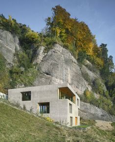 Located in Vitznau, Lucerne, Switzerland and surrounded by the Lake Lucerne landscape this Vacation home was envisioned by the homeowners to be a wood framed home, however the hillside...
