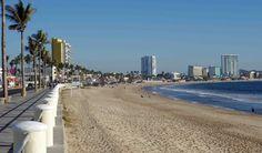 Mazatlán Malecón Beachfront Boardwalk