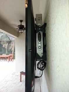 Outdoor tv mount