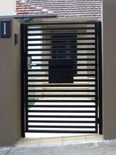 contemporary gate designs - Google Search