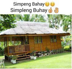 Bahay Kubo Modern House Design Wooden House Design, Bamboo House Design, Tiny House Design, Bahay Kubo Design Philippines, Philippines House Design, Play Houses, Nice Houses, Dream Houses, Philippine Houses