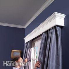 How to Build Window Cornices