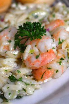 Sugar & Spice by Celeste: Roasted Shrimp & Orzo - Ina Garten