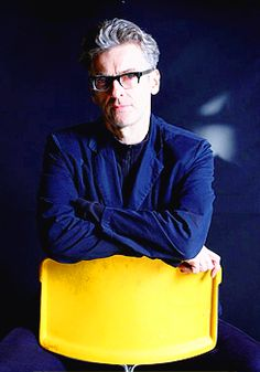 Peter Capaldi - love the glasses