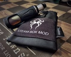 Pandoras black belt pouch Steam Box Mod logo